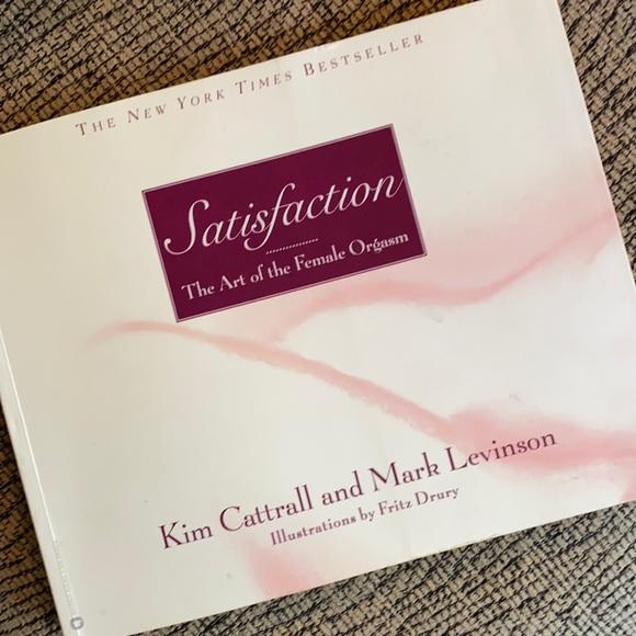 "EUC Kim Cattrall New York Times Bestseller 2002 Book ""Satisfaction""Mark Levinson"